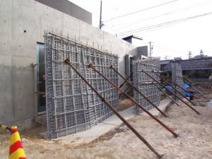 ラス型枠の壁 Ⅱ
