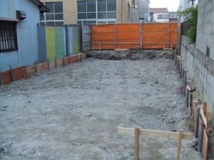 もうひとつの憧憬舎 Vol.2 O邸 no.2 建物位置確認~地盤改良工事
