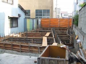 もうひとつの憧憬舎 Vol.2 O邸 no.4 基礎工事 型枠~コンクリート打設