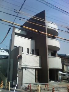 もうひとつの憧憬舎 Vol.1 R邸  NO.18  建物完成間近