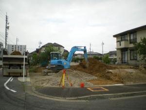 緑区鎌倉台の家現場