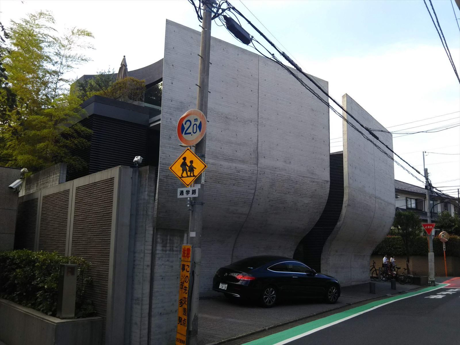 東京建築散歩20 池ノ上のマンション