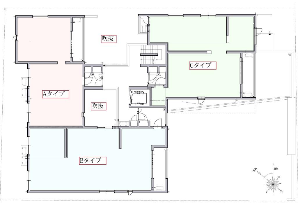 A-13 2階平面図